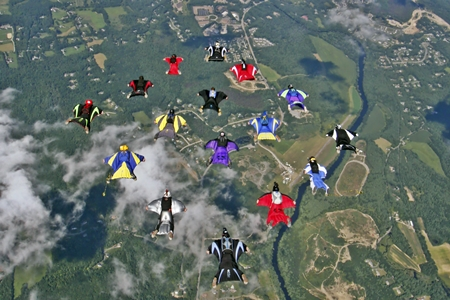 wing suits